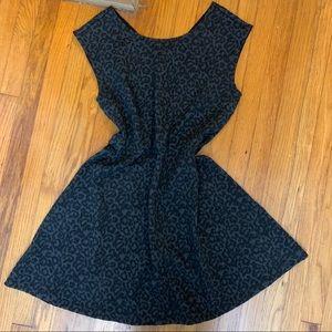 [Loft] Black textured dress NWT